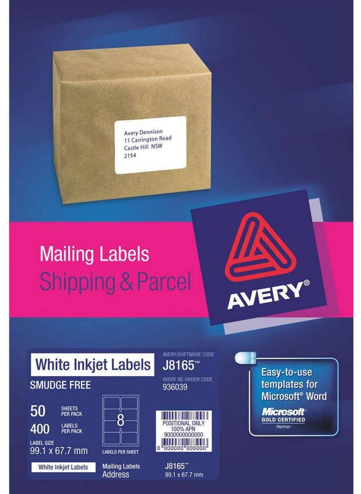 avery labels 6 per sheet