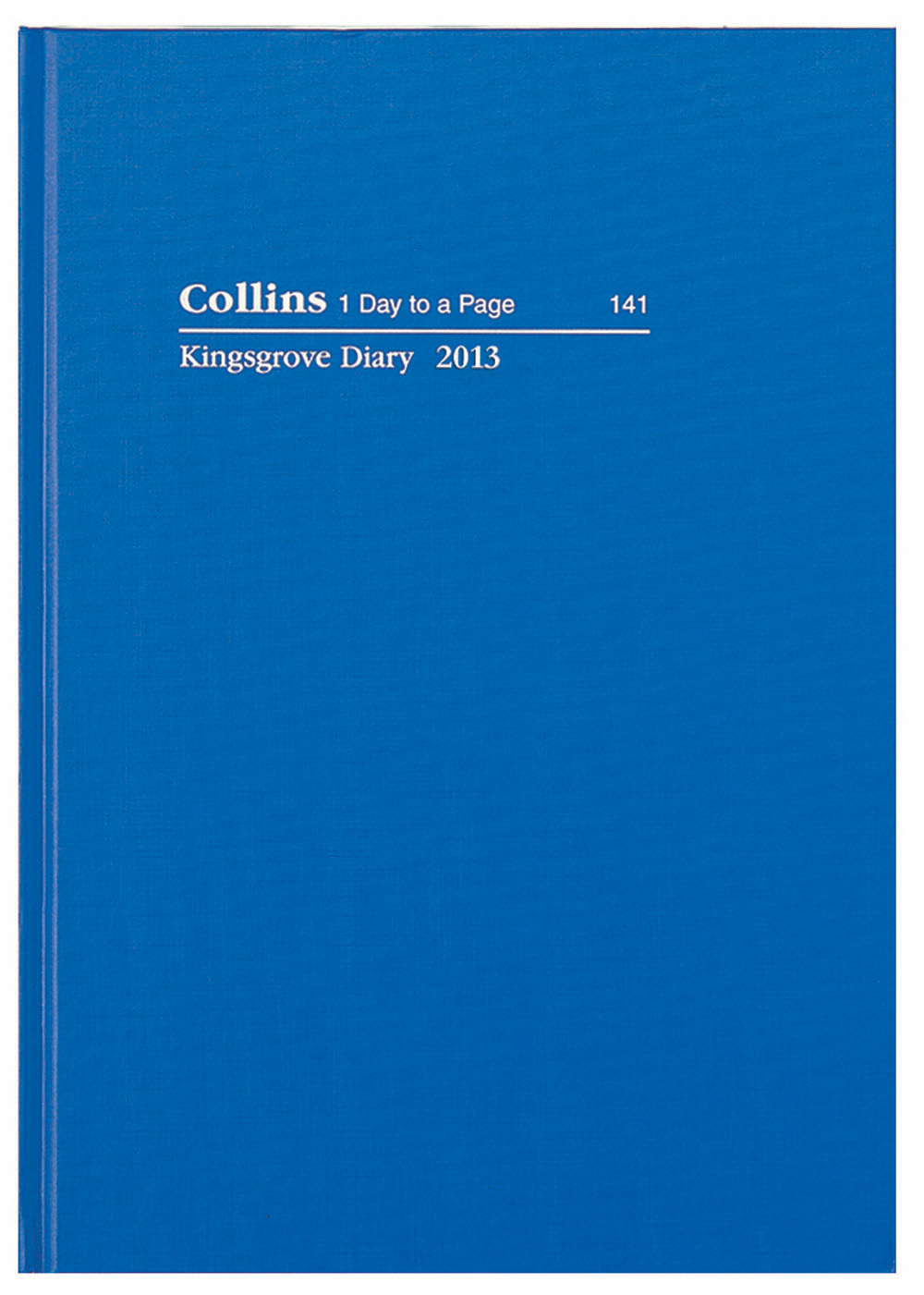 Collins 2018 Kingsgrove A5 Week to View Opening Diary 381.P59-18 Hardcover BLUE