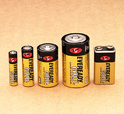 40051362 Batteries Eveready AA Gold A91HP8 - pack 8