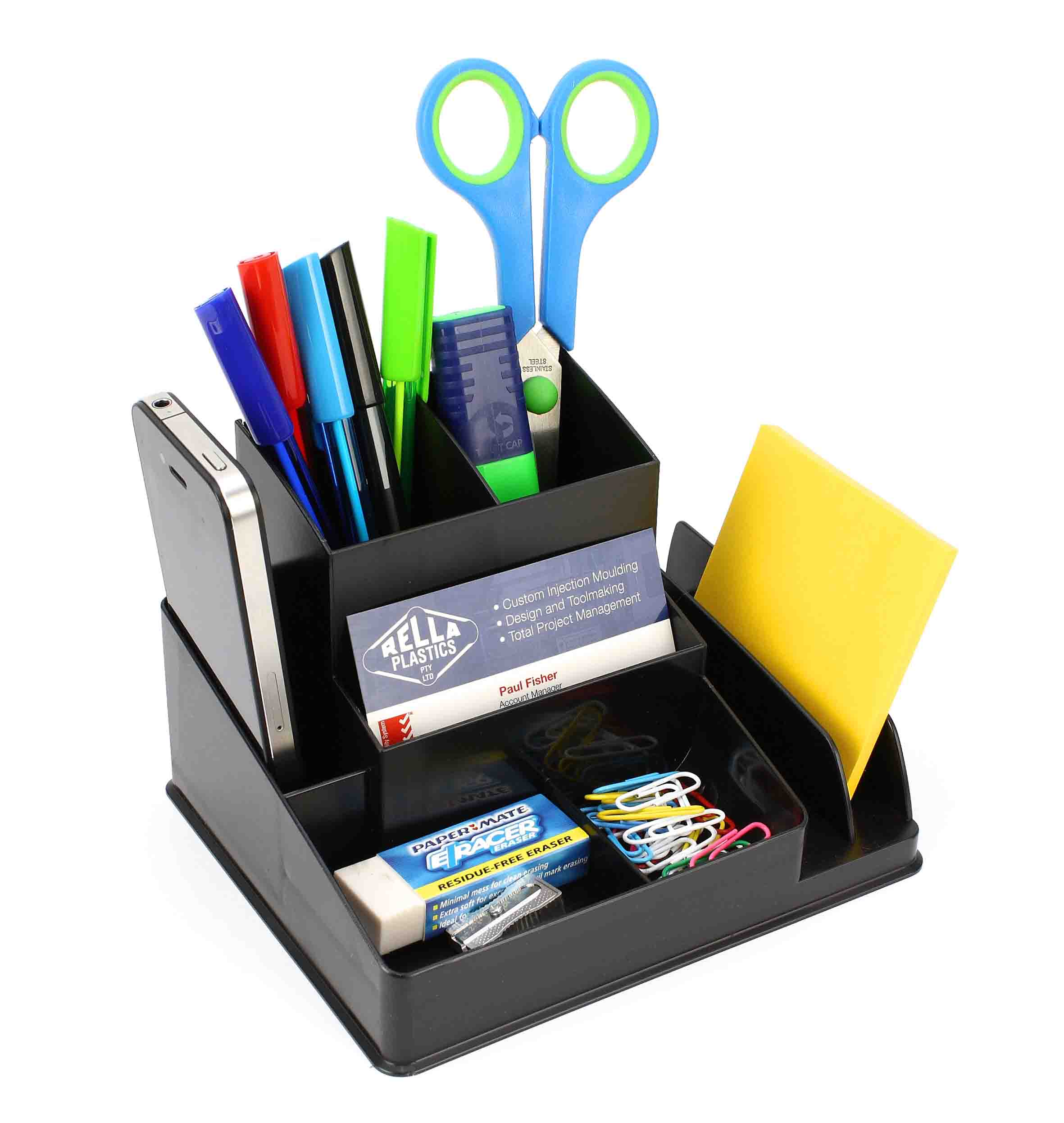Cookie warning - Desk stationery organiser ...