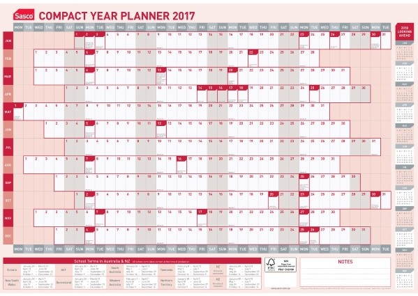 Year Calendar Officeworks : Australian calendar new template site